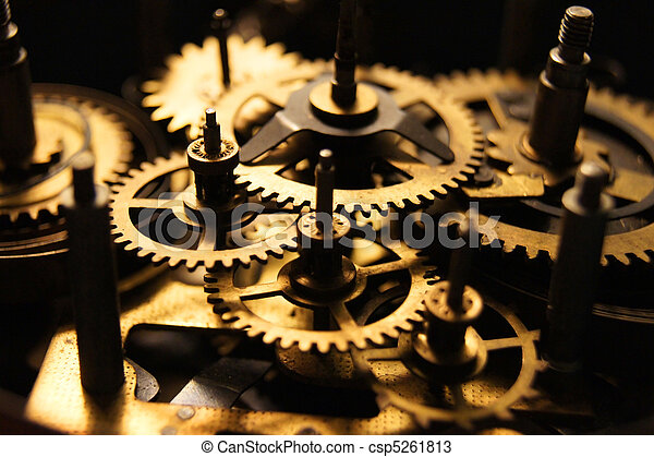 Old Gears - csp5261813