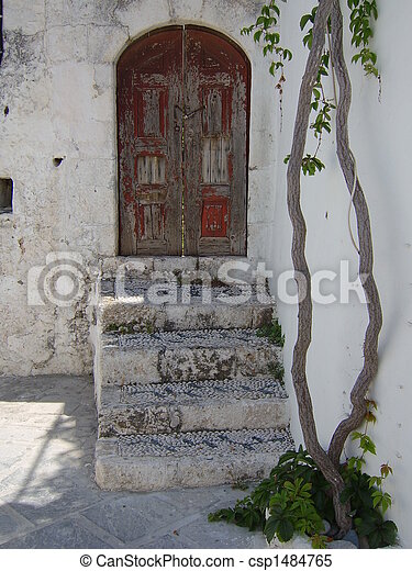 Old Greek House - csp1484765