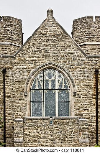 Old historic brick building - csp1110014