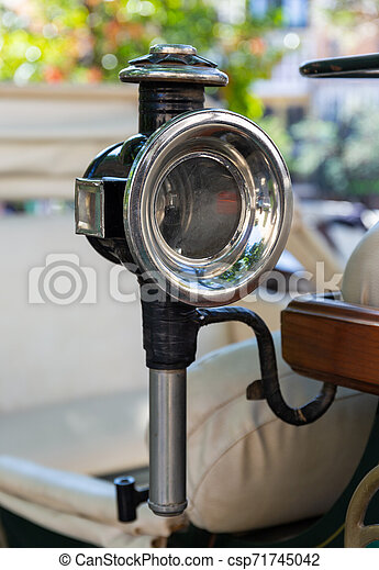 Old Horseless Carriages Headlight - csp71745042