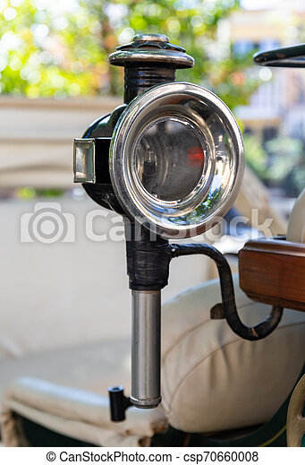 Old Horseless Carriages Headlight - csp70660008