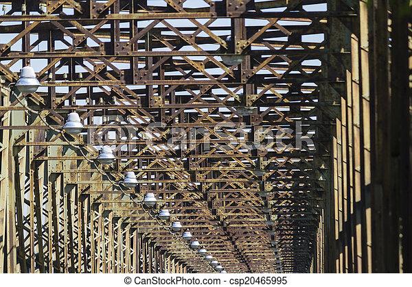 old iron bridge - csp20465995