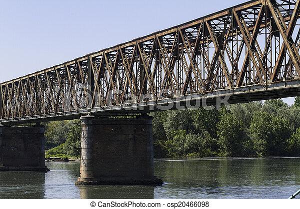 old iron bridge - csp20466098