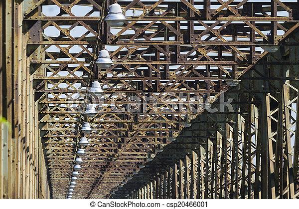 old iron bridge - csp20466001