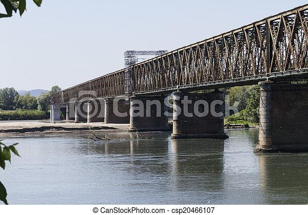 old iron bridge - csp20466107