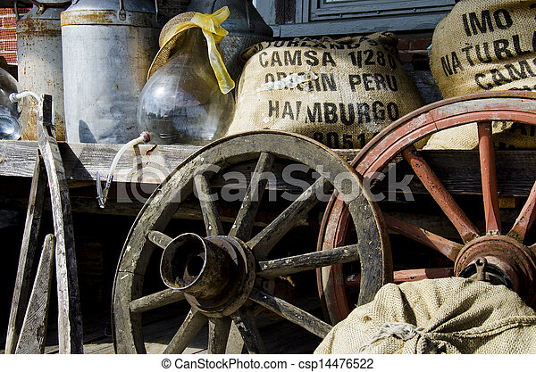 Old items from the farm  - csp14476522