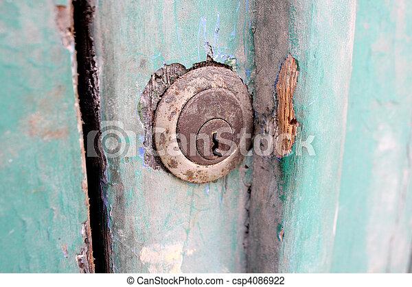 Old Key Hole - csp4086922