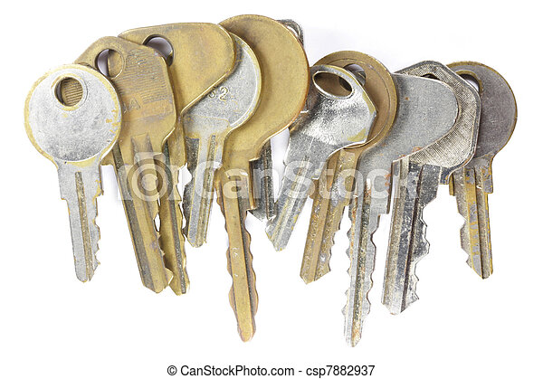 Old keys - csp7882937