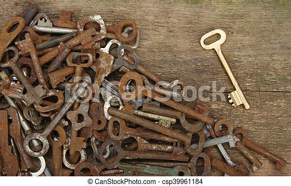 old keys - csp39961184