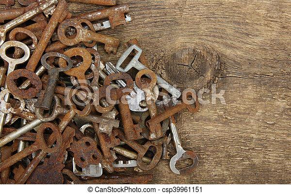 old keys - csp39961151