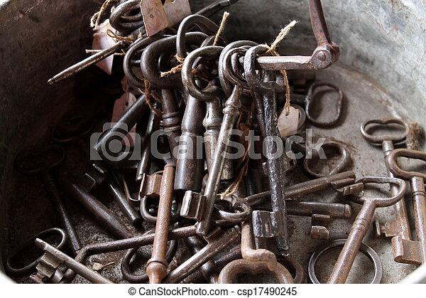 old keys - csp17490245