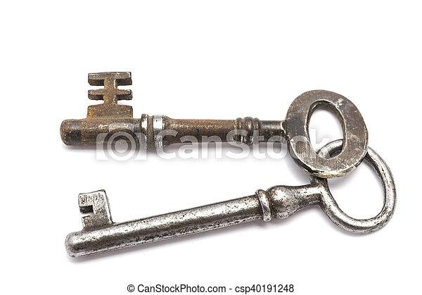 Old keys - csp40191248