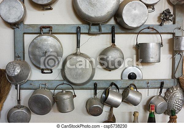 old kitchen equipment - csp5738230