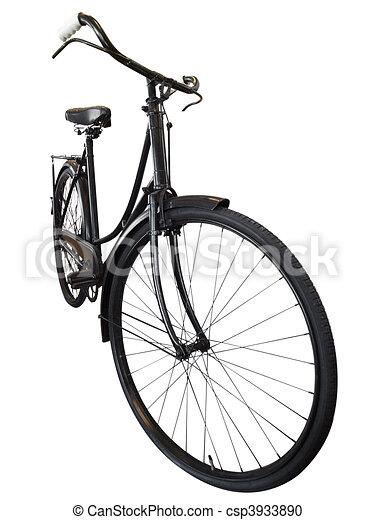 Old Ladies Bike - csp3933890