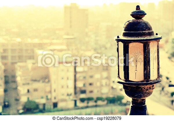Old lamp - csp19228079