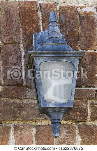 old lamp - csp22370875