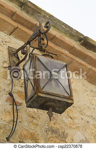 old lamp - csp22370878