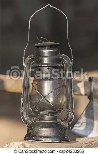 old lamp - csp24283266