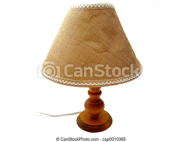 Old Lamp - csp0010365
