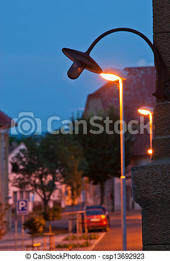 old lamp - csp13692923