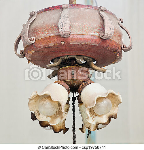 old lamp - csp19758741