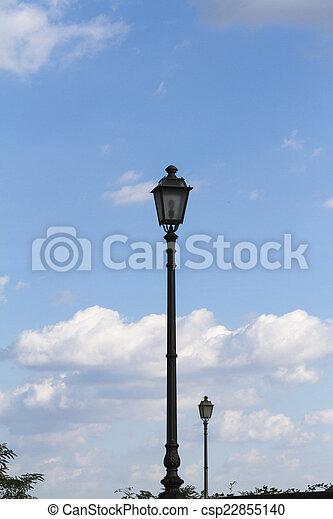 old lamp - csp22855140