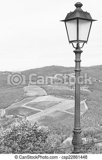 old lamp - csp22861448