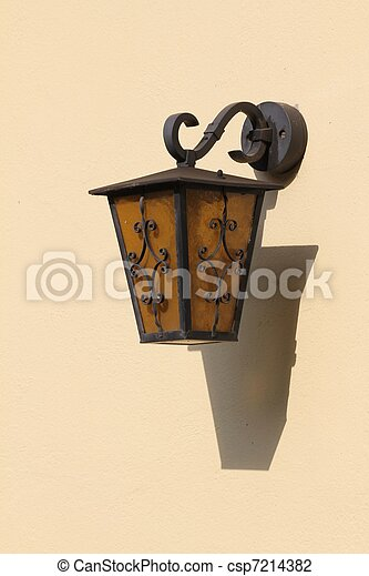 old lamp - csp7214382