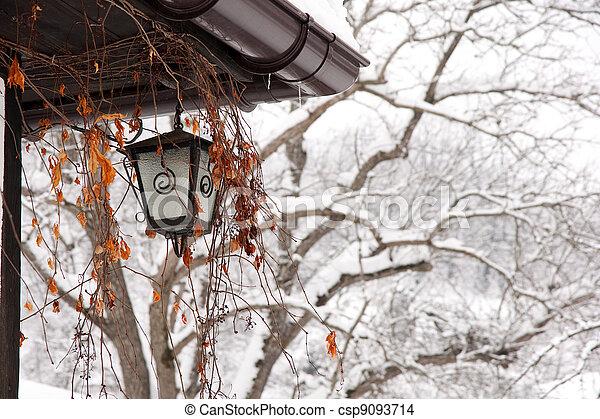 Old Lamp - csp9093714