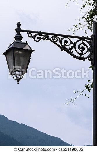 old lamp - csp21198605