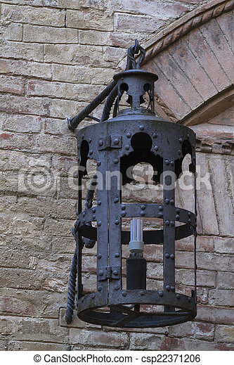 old lamp - csp22371206