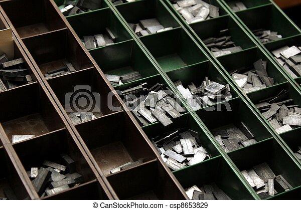 old letterpress - csp8653829