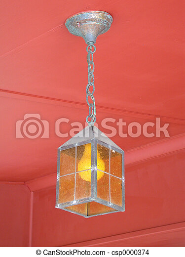 Old light fixture - csp0000374