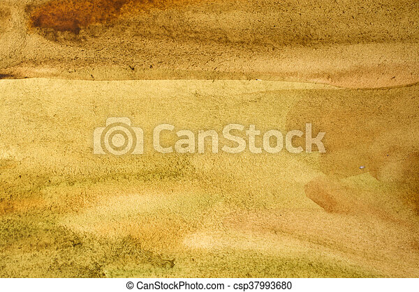 old light yellow watercolor background - csp37993680