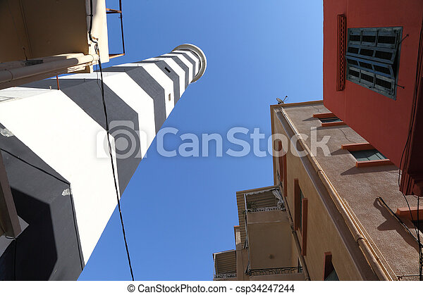 Old Lighthouse, Beirut - csp34247244
