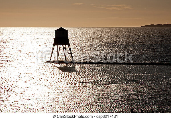 Old Lighthouse in the UK - csp8217431