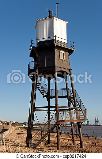 Old Lighthouse in the UK - csp8217424