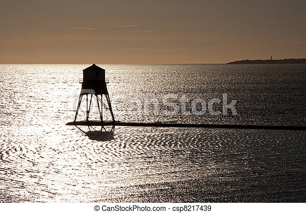Old Lighthouse in the UK - csp8217439