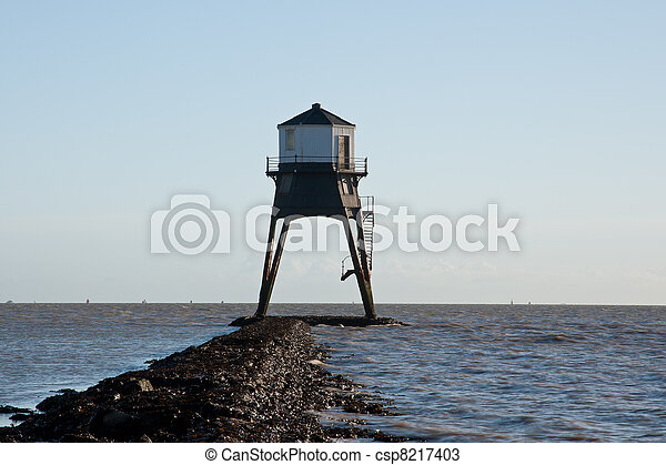 Old Lighthouse in the UK - csp8217403