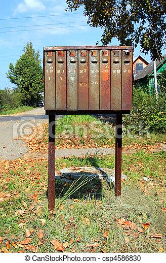 old mailbox - csp4586830