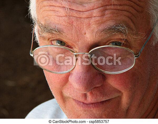 old man - csp5853757