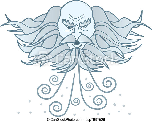 Old Man Winter - csp7997526
