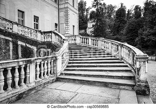 Old Marble Staircase   Csp30569885
