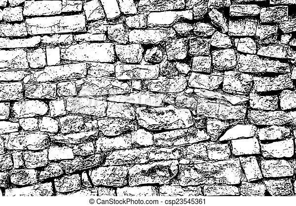 White Brickwork Wallpaper