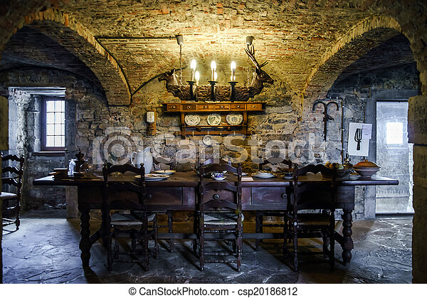 old medieval castle interior view belgium museums