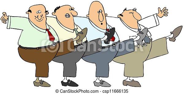 Old men dancing - csp11666135