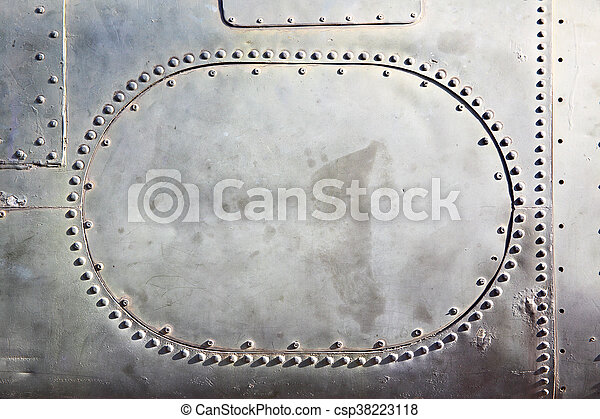 Old metal background - csp38223118