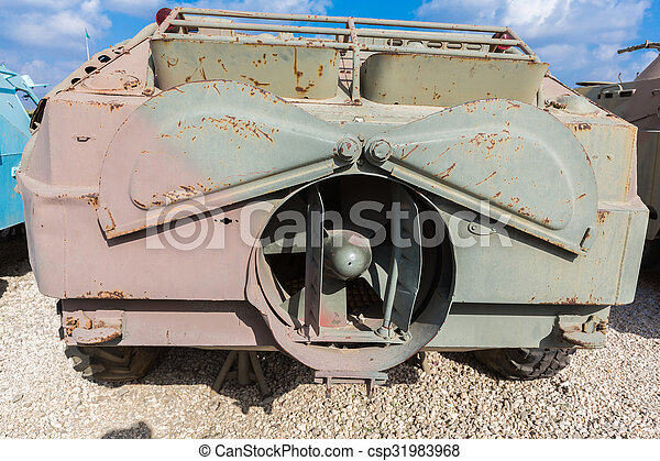 old military vehicles - csp31983968