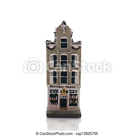 old miniature house department store