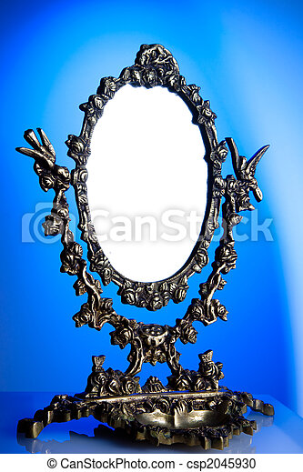 Old mirror - csp2045930